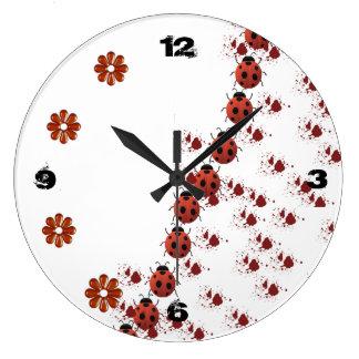 horloge coccinelle