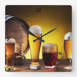 Horloge de bière