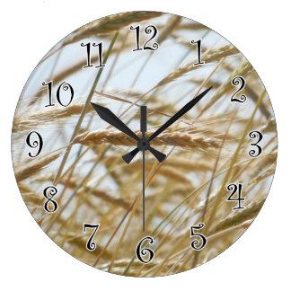 Horloge de blé et de ciel