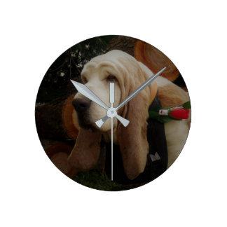 Horloge de chien de basset