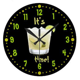 Horloge de Coctail de Brésilien de temps de