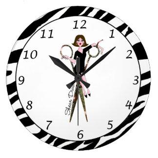 "Horloge ""de diva de cisaillement"""