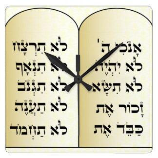 Horloge de Dix commandements