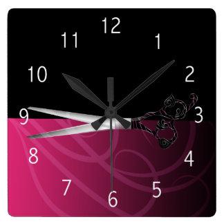 Horloge de fantaisie de salon de coiffure
