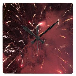 Horloge de feux d'artifice