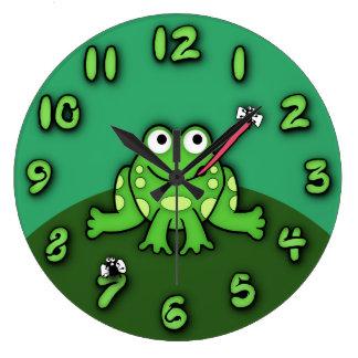 Horloge de grenouille