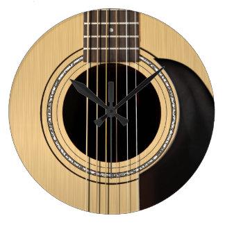 Horloge de guitare acoustique