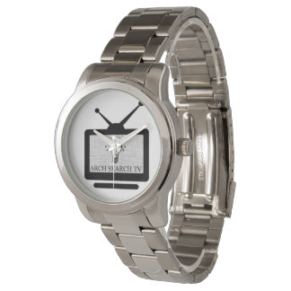 Horloge de je bats Arch Search TV Montres Bracelet