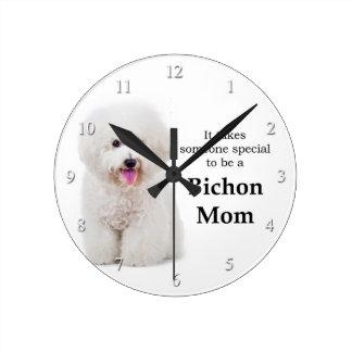 Horloge de maman de Bichon