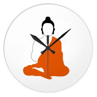Horloge de minimaliste de Bouddha