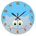 Horloge de monstre bonjour