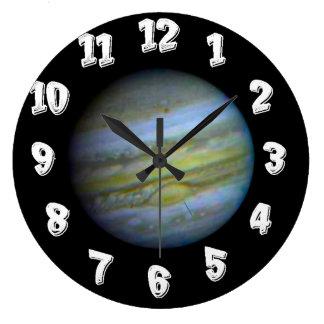 Horloge de mur de Jupiter