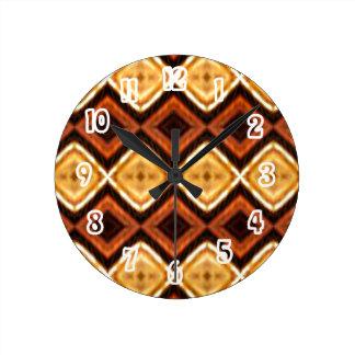 Horloge de mur décorative de motif