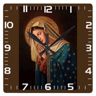 "Horloge de mur «Notre Mme """