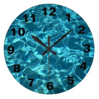 Horloge de piscine - ronde