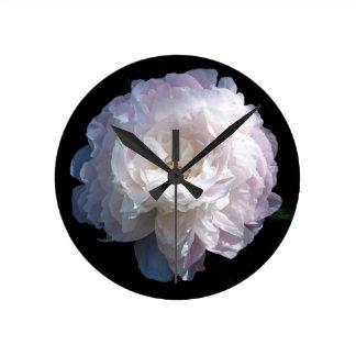 Horloge de pivoine