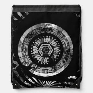 Horloge de puissance sac avec cordons