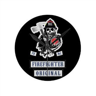 Horloge de sapeur-pompier !