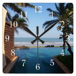 Horloge de spa de la Thaïlande