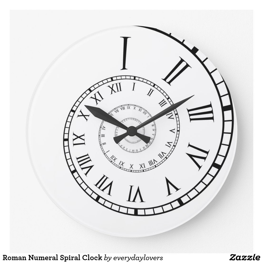horloge murale chiffre romain horloge murale chiffre. Black Bedroom Furniture Sets. Home Design Ideas