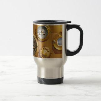 Horloge de Steampunk Tasses À Café