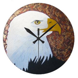 Horloge d'Eagle chauve