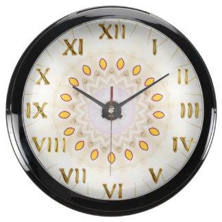 Horloge décorative d'Aqua de chiffres romains Horloge Marine