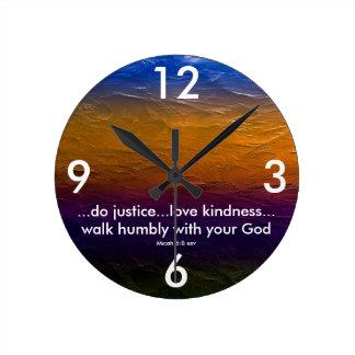 Horloge d'écriture sainte