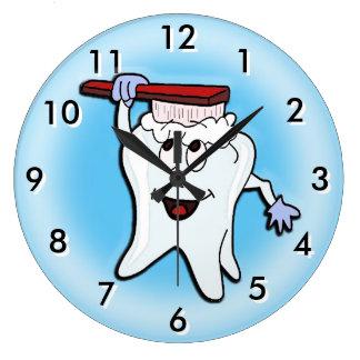 Horloge dentaire avec la couleur variable