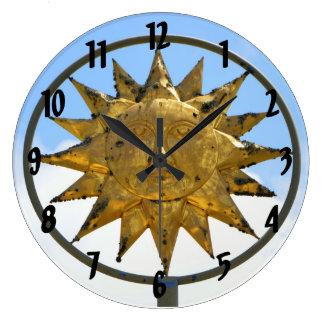 Horloge d'un dieu soleil