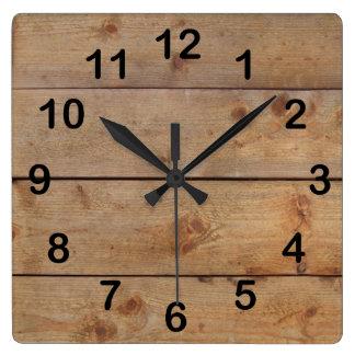 horloges planches en bois. Black Bedroom Furniture Sets. Home Design Ideas