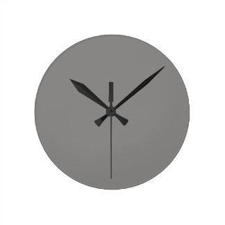 Horloge grise en pastel