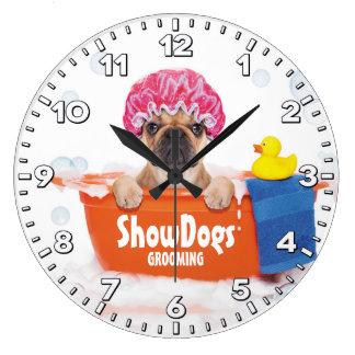 Horloge Groomer-Personnalisée parAnimal familier