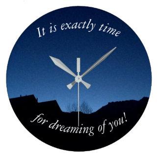 Horloge inspirée - amour