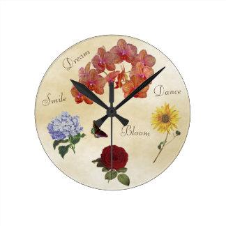 Horloge inspirée - levez-vous