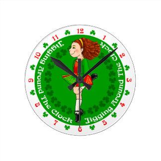 Horloge irlandaise de danse