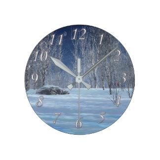 Horloge légère silencieuse