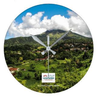 Horloge Montagne Pelée de Martinique