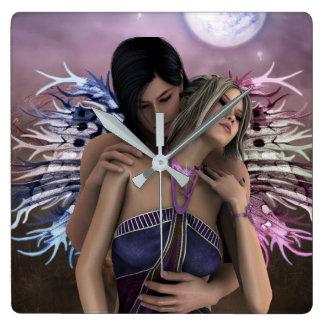 Horloge Mural Twin Soul