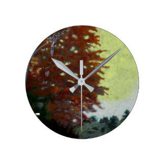Horloge Ronde Horloge murale acrylique (milieu) 13 ronds