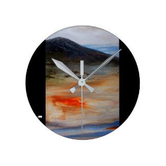 Horloge Ronde Horloge murale acrylique (milieu) 14 ronds