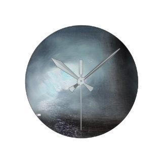 Horloge Ronde Horloge murale acrylique (milieu) 15 ronds