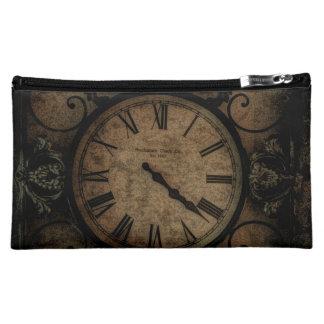 Horloge murale antique gothique vintage Steampunk Moyenne Trousse De Maquillage