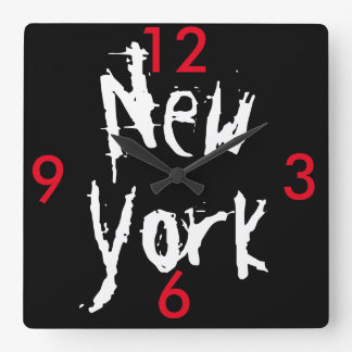 gratte ciel new york horloges gratte ciel new york horloges murales. Black Bedroom Furniture Sets. Home Design Ideas