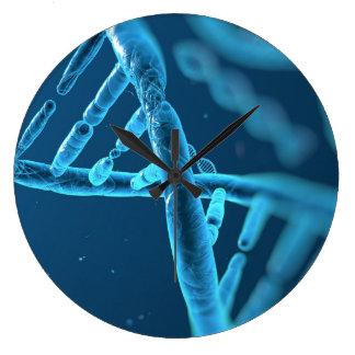 Horloge murale d'ADN d'amusement