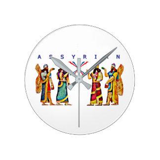 Horloge murale d'Annunaki d'Assyrien