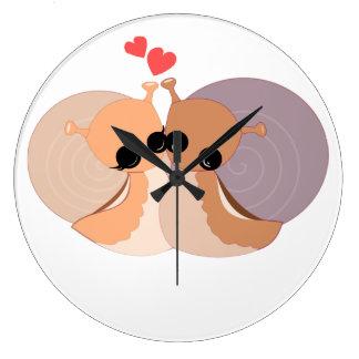 Horloge murale - dans l'amour
