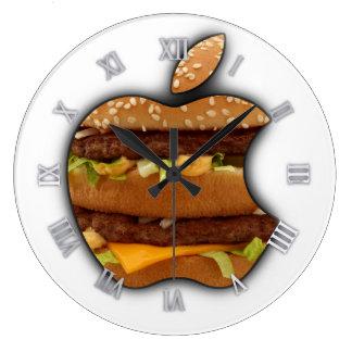 Horloge murale d'Apple de conception de Macintosh