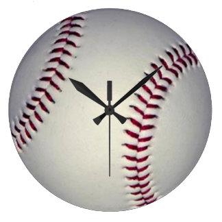 Horloge murale de base-ball