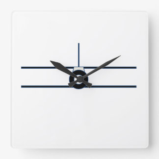 Horloge murale de biplan